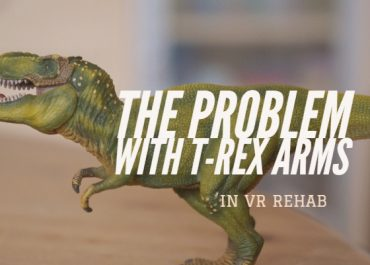 The problem with T-rex arms in VR rehab